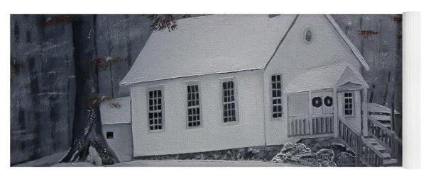 Gates Chapel - Ellijay - Signed By Artist Yoga Mat