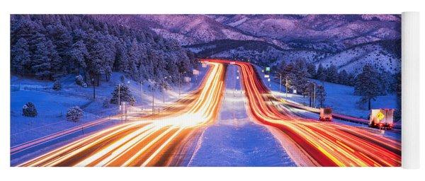 Gateway To The Rockies Yoga Mat