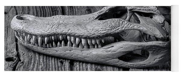 Gator Black And White Yoga Mat