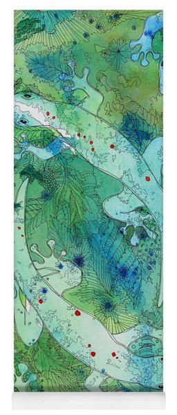 Geckos At Play Yoga Mat