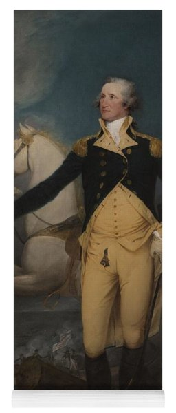 General George Washington At Trenton, 1792 Yoga Mat