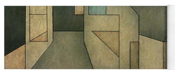 Geometric Abstraction II Yoga Mat