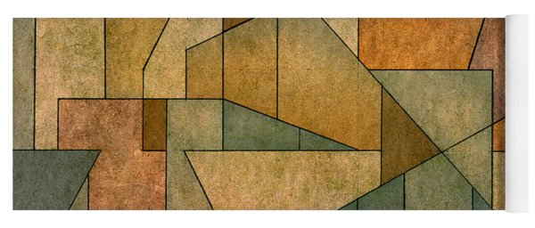 Geometric Abstraction Iv Yoga Mat