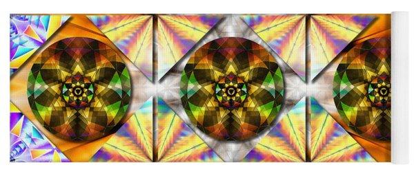 Geometric Dreamland Yoga Mat