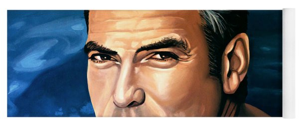 George Clooney 2 Yoga Mat