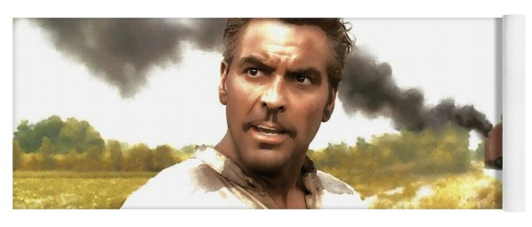 George Clooney In The Film O Brother Where Art Thou Yoga Mat