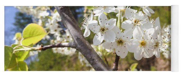 Georgia Blossoms Yoga Mat