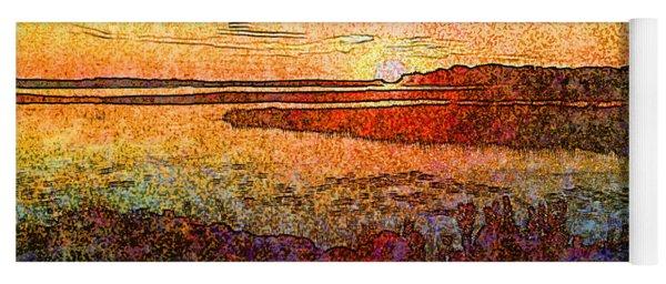 Georgian Bay Sunset Yoga Mat