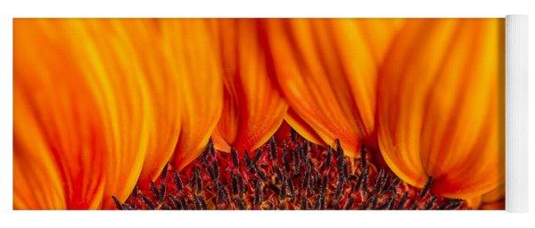 Gerbera On Fire Yoga Mat