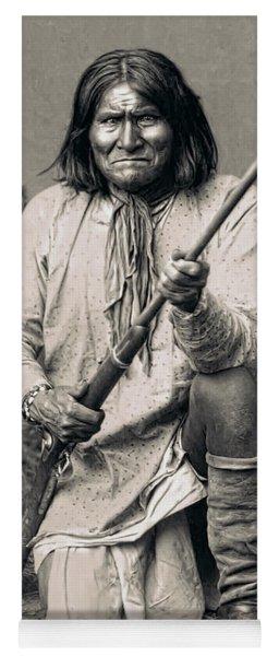 Geronimo - 1886 Yoga Mat