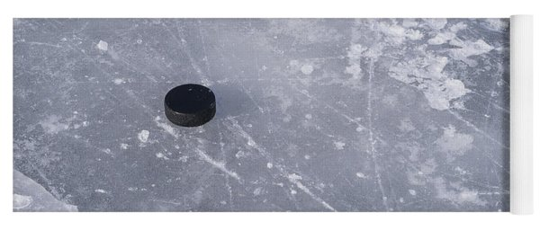 Get The Puck Outta Here Yoga Mat