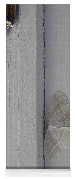Ghost Doorbell Moth Yoga Mat