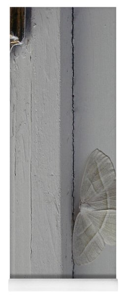 Ghost Doorbell Moth Yoga Mat