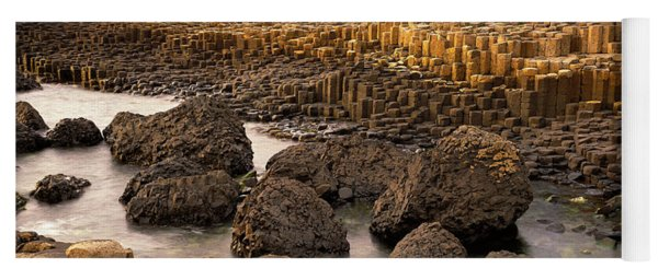 Giants Causeway, Antrim Coast, Northern Yoga Mat