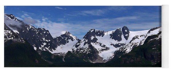 Glacier View Yoga Mat
