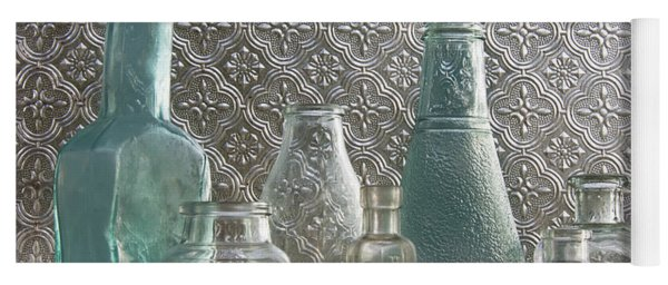 Glass Bottles 2 Yoga Mat