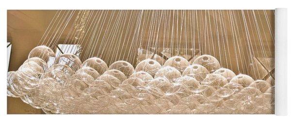 Glass Bubbles Yoga Mat