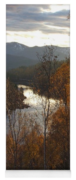 Silver And Gold - Glen Affric Yoga Mat