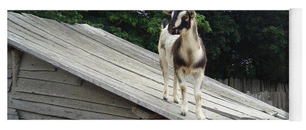 Goat On The Roof Yoga Mat