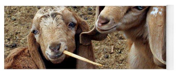 Goats #2 Yoga Mat
