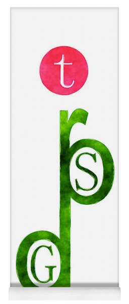God Is Spirit Yoga Mat