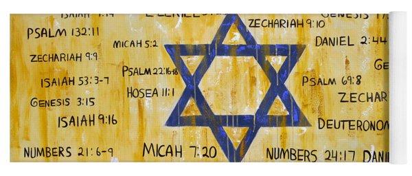 Gods Love For Israel Yoga Mat