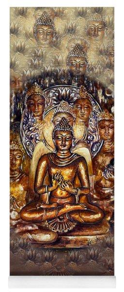 Gold Buddha Yoga Mat