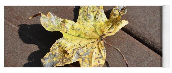 Gold Leaf Yoga Mat