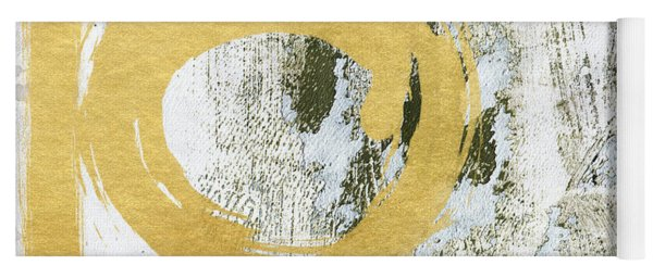 Gold Rush - Abstract Art Yoga Mat