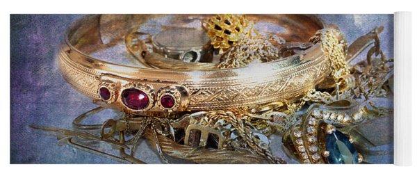 Gold Treasure Yoga Mat