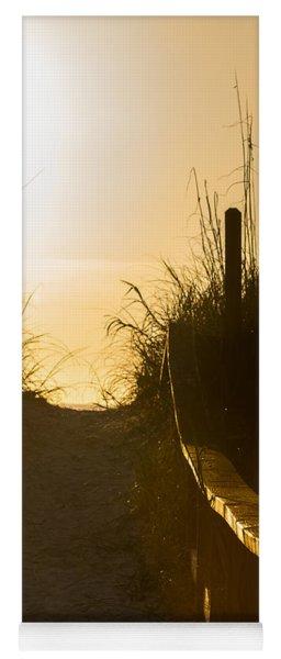 Golden Beach Access Yoga Mat