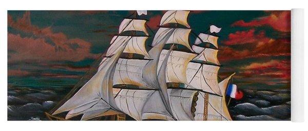 Golden Era Of Sail Yoga Mat