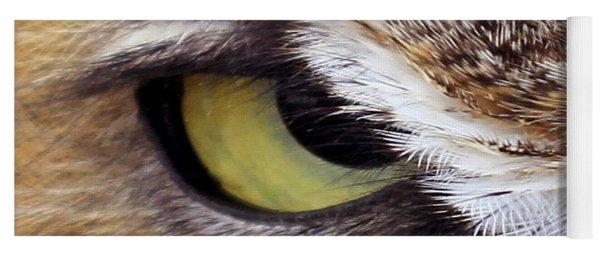 Golden Eye  Yoga Mat