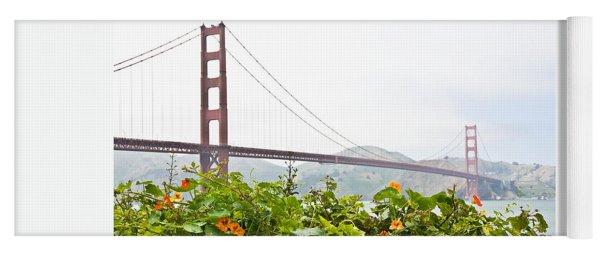 Golden Gate Bridge 2 Yoga Mat