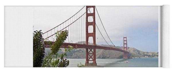 Golden Gate Bridge 3 Yoga Mat