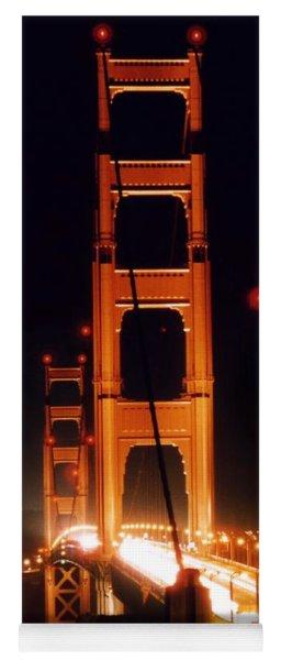 Golden Gate Night Yoga Mat