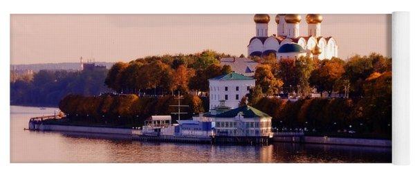 Golden Hour. Yaroslavl. Russia Yoga Mat