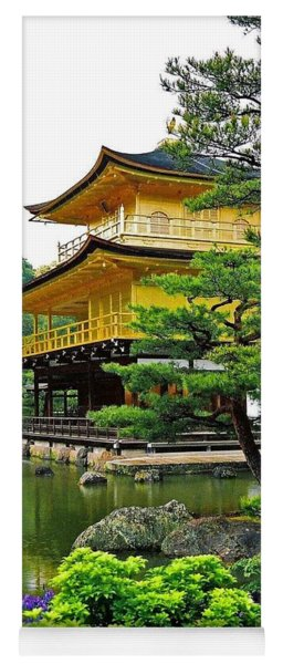 Golden Pavilion - Kyoto Yoga Mat
