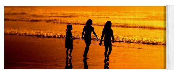 Golden Sands  Yoga Mat