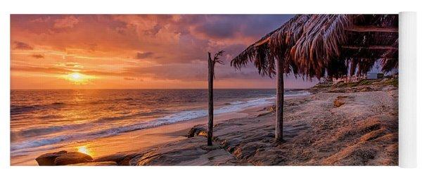 Golden Sunset The Surf Shack Yoga Mat