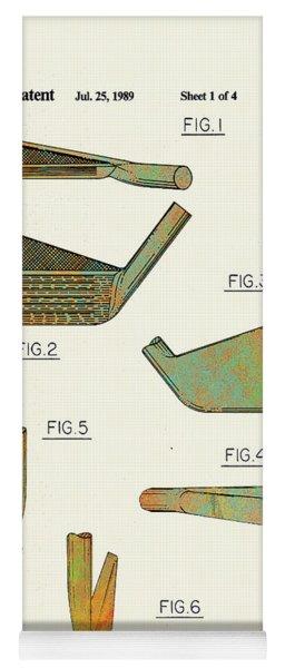 Golf Club Patent-1989 Yoga Mat