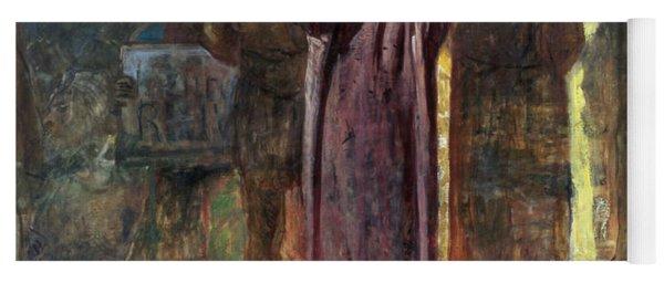 Golgotha, 1892-93 Oil On Canvas Yoga Mat