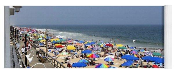 Good Beach Day At Bethany Beach In Delaware Yoga Mat