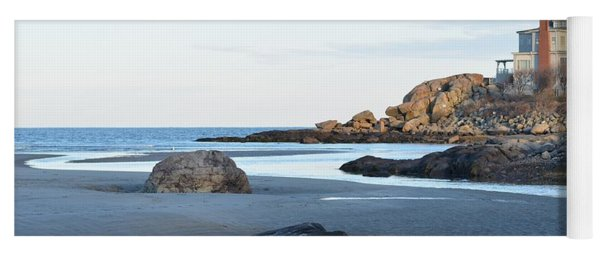 Good Harbor Beach Yoga Mat
