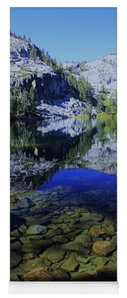 Good Morning Eagle Lake Yoga Mat