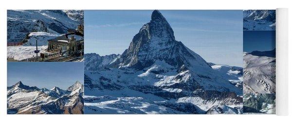 Gorgeous Matterhorn  Yoga Mat