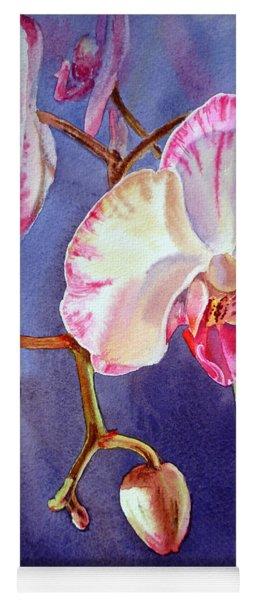 Gorgeous Orchid Yoga Mat