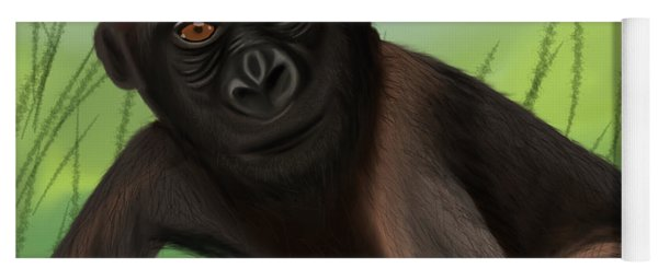 Gorilla Greatness Yoga Mat