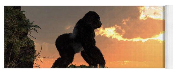 Gorilla Sunset Yoga Mat