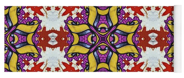 Graffito Kaleidoscope 40 Yoga Mat